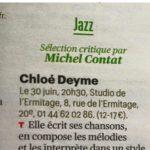 Article de Michel Contat